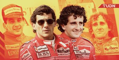 Ayrton Senna y Alain Prost, la rivalidad legendaria