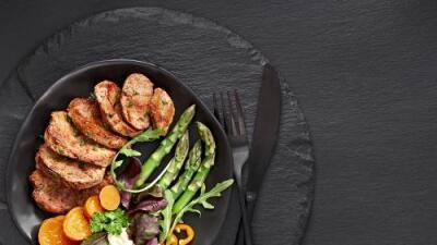 Solomillo con camote y brócoli + Ejotes al vapor | Reto 28