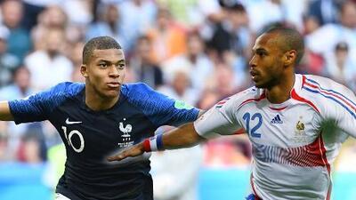 Tras los pasos de su ídolo: Mbappé quiere superar lo que hizo Henry en Francia