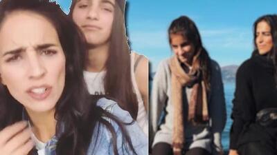 """""""¡Ya mamaaá!"""": mira el momento madre e hija de Bárbara de Regil y Alexa"""
