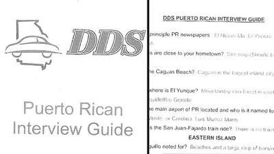 Georgia confirma existencia de cuestionada guía de preguntas para puertorriqueños