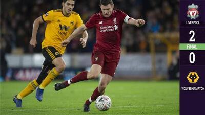Wolverhampton no pudo frenar al Liverpool que se quedó sin el título de la Premier