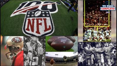 El primer siglo de la NFL en imágenes