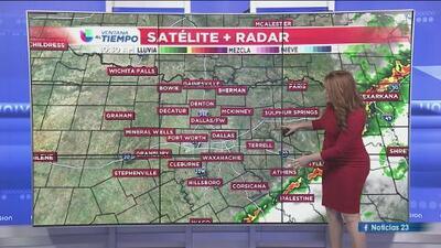 Así estarán las condiciones del tiempo durante este domingo en Dallas