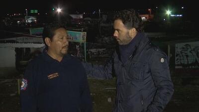 """Jefe de bomberos de Tultepec: """"No habíamos enfrentado nunca una tragedia de esta magnitud"""""""