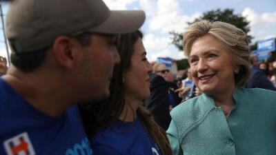 El dramático aumento del voto hispano anticipado podría darle a Clinton el impulso que necesita en Florida
