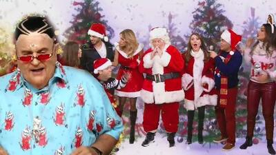 Mira el divertido video navideño de El Gordo y La Flaca en el que hasta 'Bad Bunny' participó
