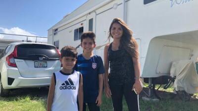 """""""Mi hijo pregunta: ¿De verdad viene otra vez?"""": Se fueron de Puerto Rico tras María y ahora se preparan para recibir a Dorian"""