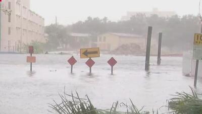 La fuerza del huracán Irma inundó el centro de Miami