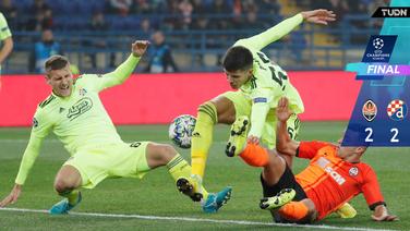 Dinamo Zagreb arranca un punto del Estadio Metalist
