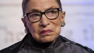 """Magistrada de la Corte Suprema Ruth Bader Ginsburg: """"No quiero ni pensar"""" sobre Trump como presidente"""