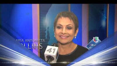 María Antonieta Collis felicita a Univision 41