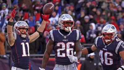 Los Patriots se reinventan: su ataque ahora se basa en el juego terrestre
