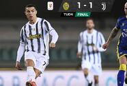 Juventus y Cristiano tropiezan con el Verona y se alejan de la cima