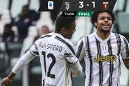 Weston McKennie sella triunfo de la Juventus sobre el Genoa