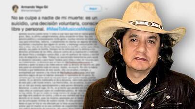 Tras el suicidio de Armando Vega-Gil, exigen identificar a la mujer que denunció al músico en Twitter