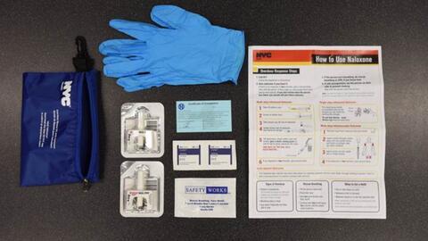 Familia, amigos y adictos sobrevivientes recibirán kits de emergencia para tratar una sobredosis