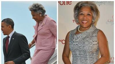 ¿Fue el vestido de Joyce Beatty una manera de hacer que nadie olvide el plagio de Melania Trump?