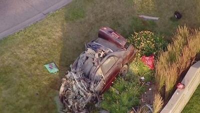 Las impactantes imágenes del accidente en el que un hombre perdió la vida frente a la Universidad Loyola Chicago