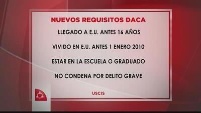 Requisitos para DACA