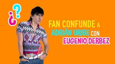 Fan confunde a Adrián Uribe con Eugenio Derbez