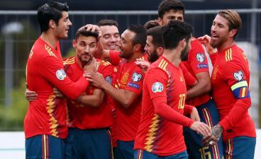 En fotos: España avanza con paso firme rumbo a la Eurocopa 2020 contra Islas Faroe
