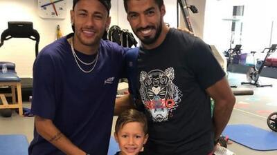 Las buenas amistades nunca se olvidan y para ejemplo Neymar