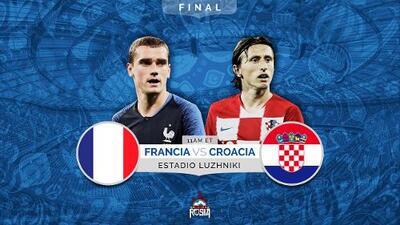 Francia vs. Croacia: la velocidad de los 'galos' contra la posesión de pelota de los 'balcánicos'