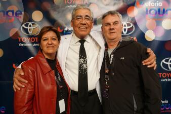 Lucky Listeners Got Their Chance To Meet Ruben Ramos