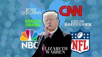 Cómo Trump usa Twitter para ventilar viejos conflictos personales y de negocios