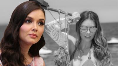 """Marlene Favela se emociona """"hasta las lágrimas"""" un día después de dar a luz a su hija Bella"""
