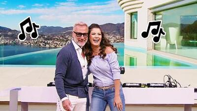 Este reggaetón de Ana Patricia puso a Gianluca Vacchi a sus pies