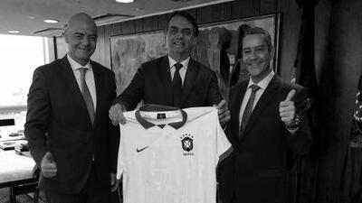 Bomba social en Copa América puede estallar en manos del presidente de Brasil