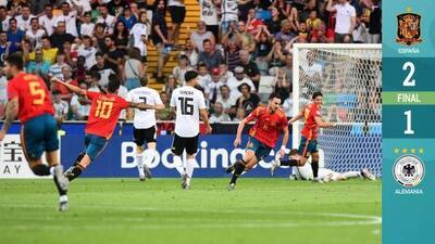 España 2-1 Alemania - RESUMEN Y GOLES - Final - Europeo Sub-21