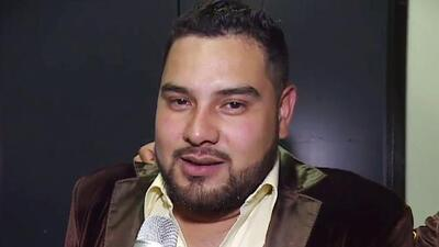 Alan Ramírez de Banda MS regresó a los escenarios después del atentado