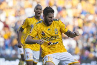 En fotos: con dos goles Gignac le dio un importante triunfo a Tigres sobre Querétaro