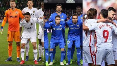 Valencia a la Champions, Getafe y Sevilla a la Europa League