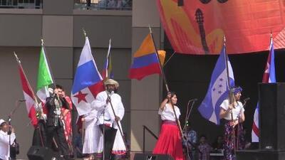 Celebran el folkore y la cutura latina de trece países en San Antonio