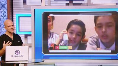 Telemedicina: Niño de 11 años pide ayuda para su hermanito con diabetes