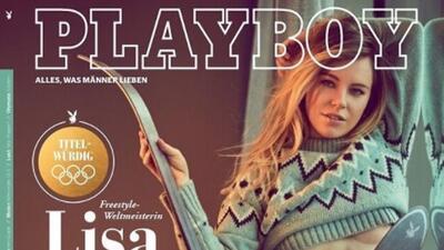 Lisa Zimmermann: no llegó a Olímpicos, pero sí a Playboy