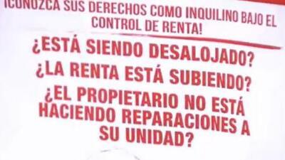Promueven campaña para que inquilinos conozcan sus derechos bajo el control de rentas