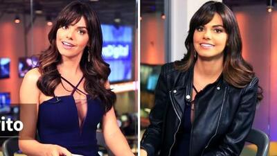 Exclusiva: Livia Brito se convirtió en reportera y entrevistó a 'La piloto'