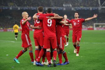 En fotos: Bayern mantuvo su recuperación con un triunfo por 2-0 sobre el AEK en la Champions
