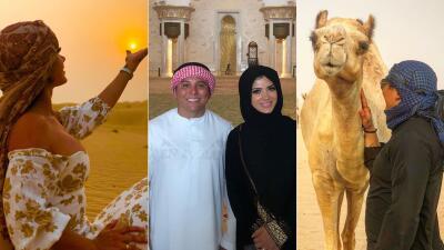 EN FOTOS: La luna de miel de Edwin Luna y Kimberly Flores en Medio Oriente fue una aventura inolvidable