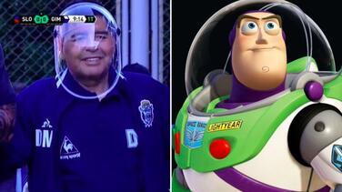 Comparan a Maradona con Buzz Lightyear