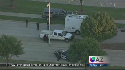Identifican a sospechosos de tiroteo en Texas