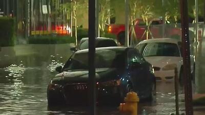 Caos en  el tráfico de Miami-Dade por el paso de la tormenta tropical Emily