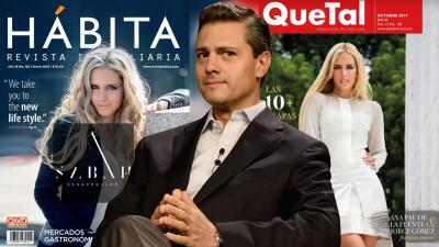 Vinculan a la modelo Tania Ruiz con el marido de 'la Gaviota', Enrique Peña Nieto