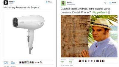 Apple presentó los AirPods e Internet corrió a reírse de ellos