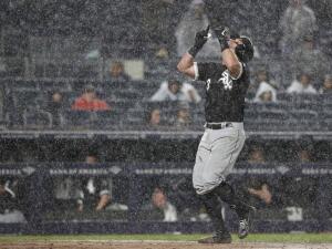 Unos disminuidos Yankees caen bajo la lluvia en el Bronx ante los White Sox